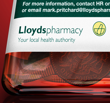 3D Illustration – Lloyds Pharmacy Poster
