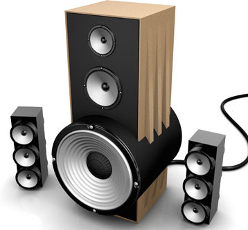 3D Visualisation – Speaker Design Visual