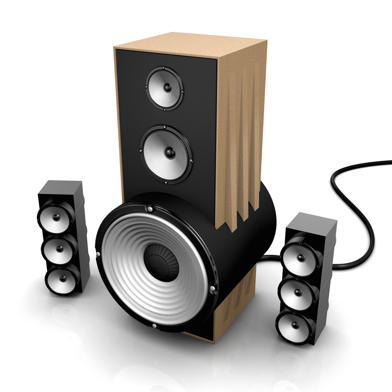3d Visualisation Speaker Design Visual