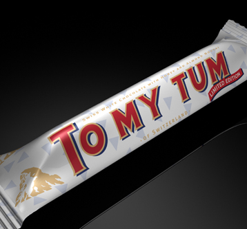 3D Visualisation – Toblerone Packaging