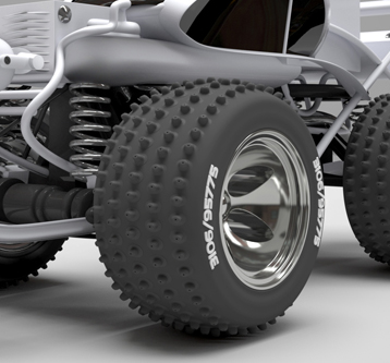 3D Visualisation – Toy RC Car Model