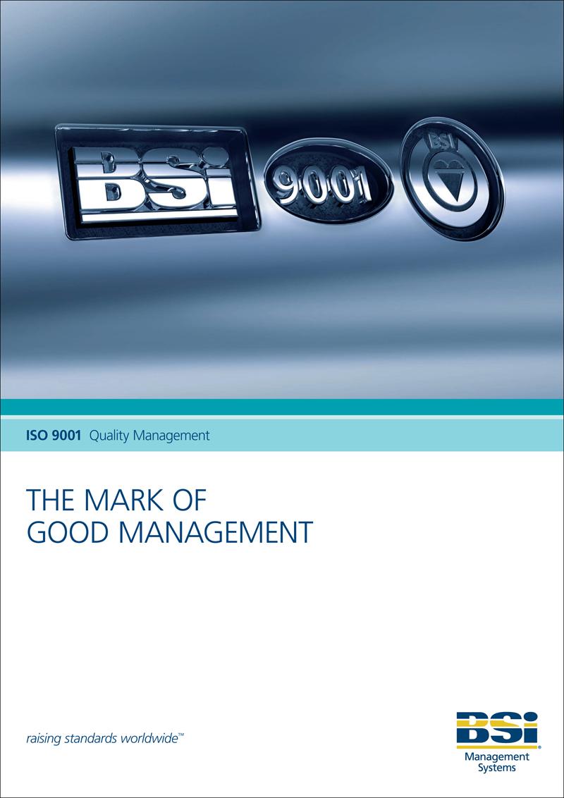 3D Illustration – BSI Hallmark Style Logo